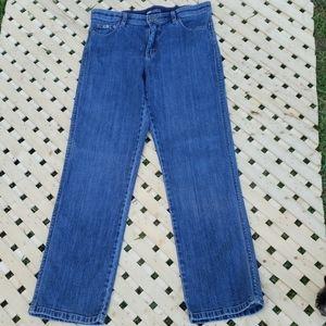 Lee's Comfort Waistband Stretch Denim Jean's